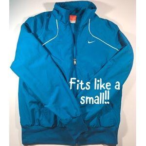 Vintage Nike Jacket Blue Fits Like A Women's Small